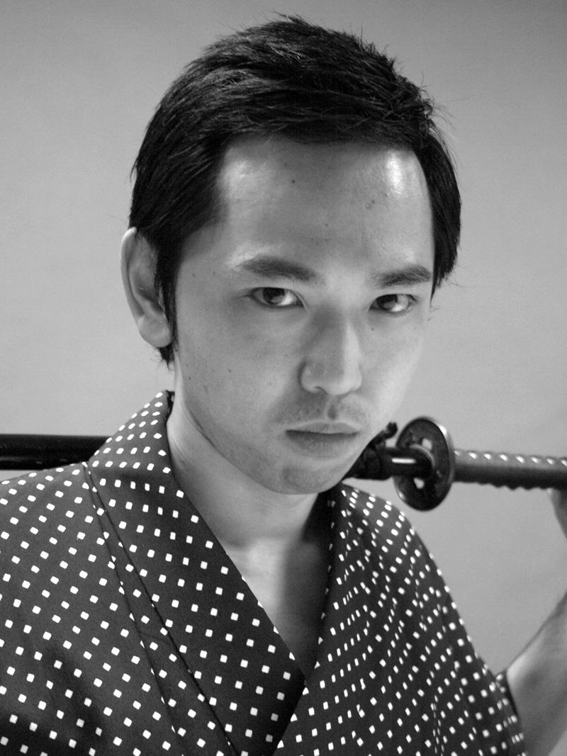 [猿 mashira 2009] 千秋楽カーテンコールでの瓦版屋キャスト紹介